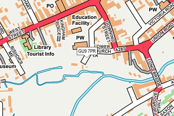 GU9 7PR map - OS OpenMap – Local (Ordnance Survey)