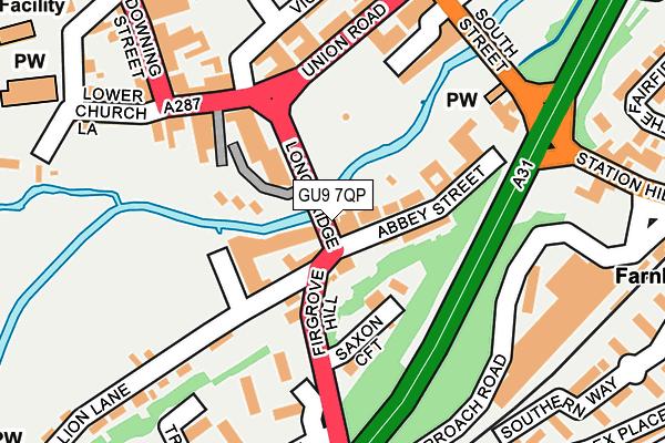 GU9 7QP map - OS OpenMap – Local (Ordnance Survey)