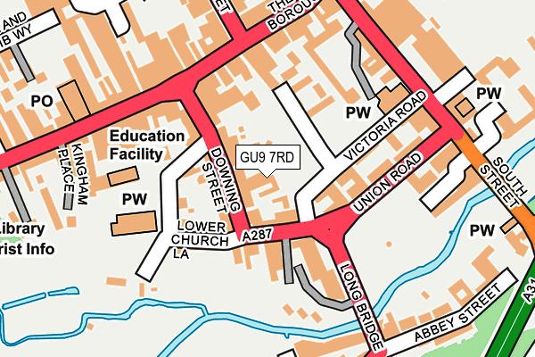 GU9 7RD map - OS OpenMap – Local (Ordnance Survey)