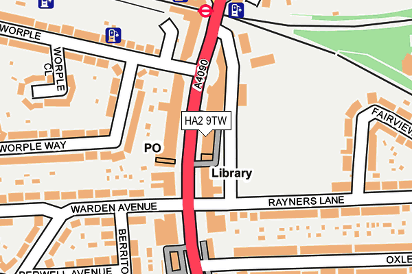Ha2 9tw Maps Stats And Open Data