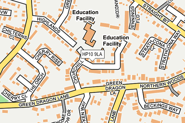 Map of URBANMOTION LIMITED at local scale