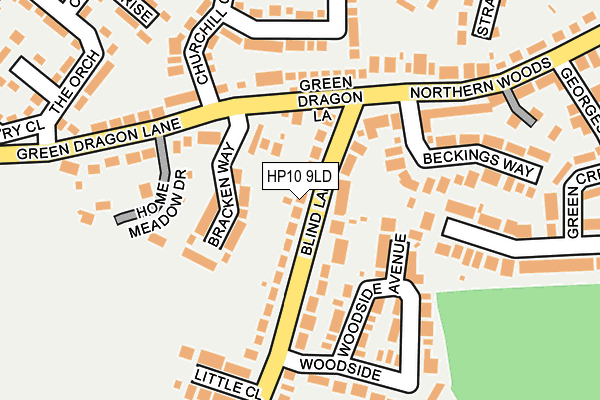 Map of DE NOVO VENTURES LIMITED at local scale