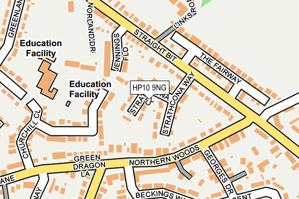 Map of JUTEBERRY LTD at local scale