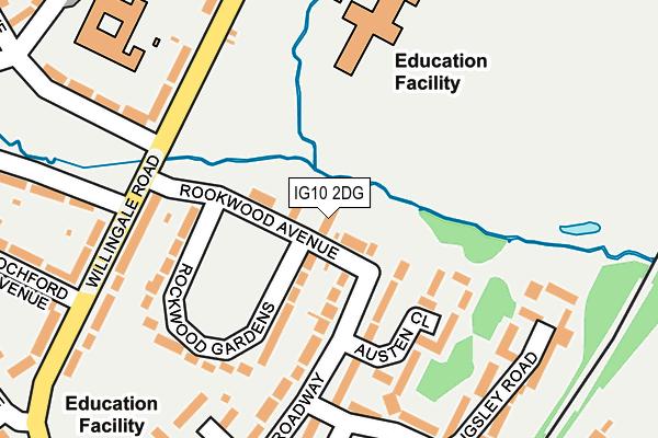 IG10 2DG map - OS OpenMap – Local (Ordnance Survey)
