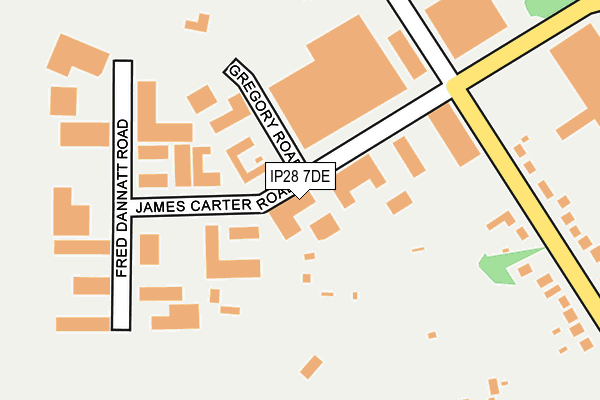 Map of PARK WEST RECORDS LTD at local scale