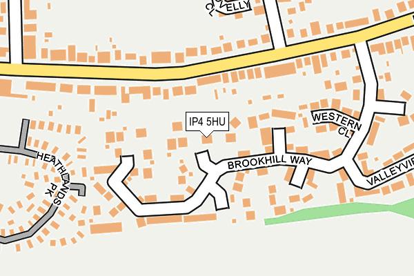 IP4 5HU map - OS OpenMap – Local (Ordnance Survey)