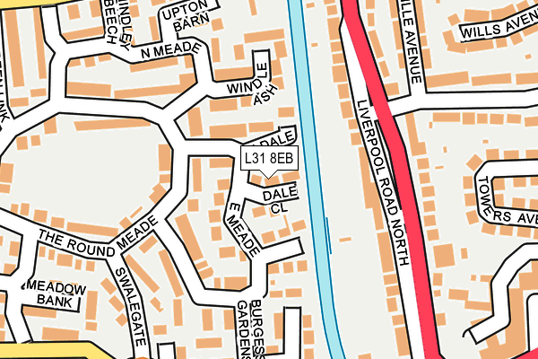 L31 8EB maps, stats, and open data