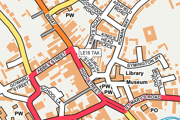 Map of EDGE BESPOKE LTD at local scale