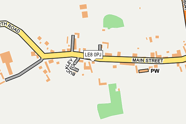 Map of HSG MARINE LIMITED at local scale