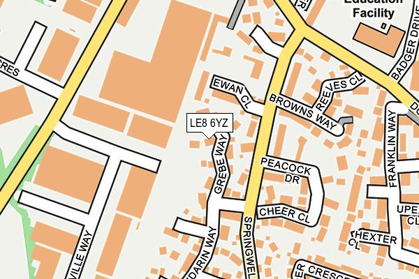 Le8 6yz Maps