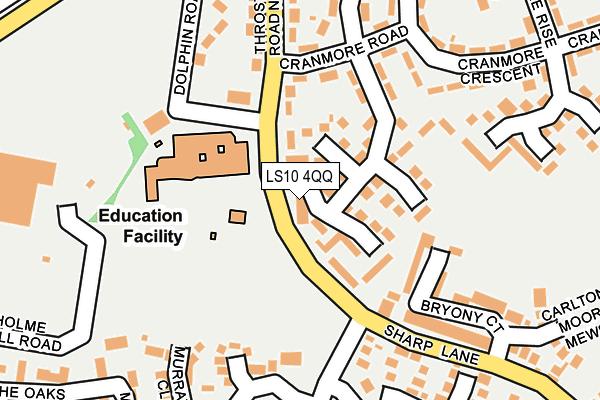 LS10 4QQ map - OS OpenMap – Local (Ordnance Survey)
