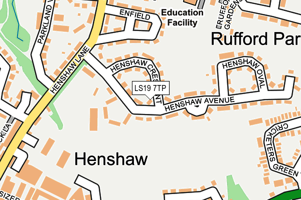 Map of HELENA WILLIS LTD at local scale
