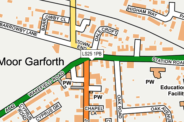 Map of H L BROLL LIMITED at local scale