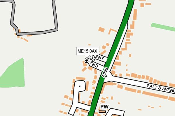 Map of BLACKWOOD BAYNE LTD at local scale