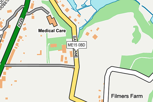 Map of BROOKS CONSTRUCTION CONSULTANTS LIMITED at local scale