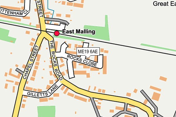 Map of GRACED AESTHETICS LIMITED at local scale
