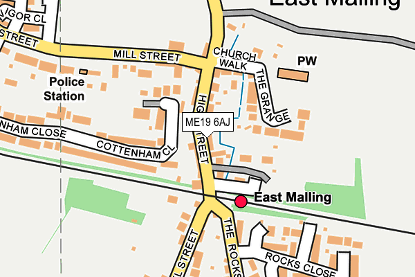 Map of MAVEN IT SERVICES LTD at local scale