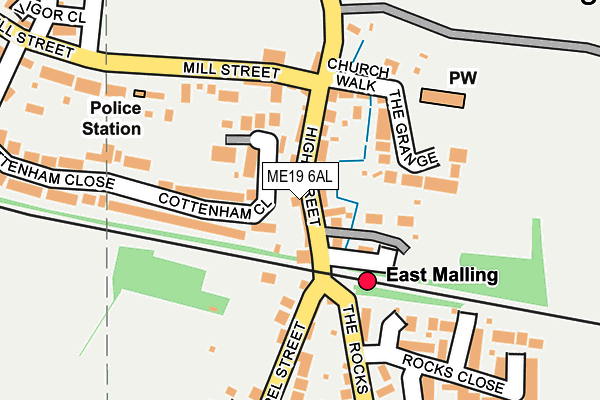 Map of MODE LOGISTICS MANAGEMENT LIMITED at local scale