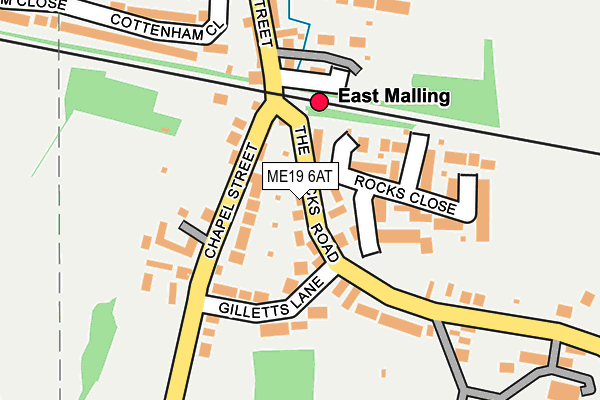 Map of NUMBER I LTD at local scale