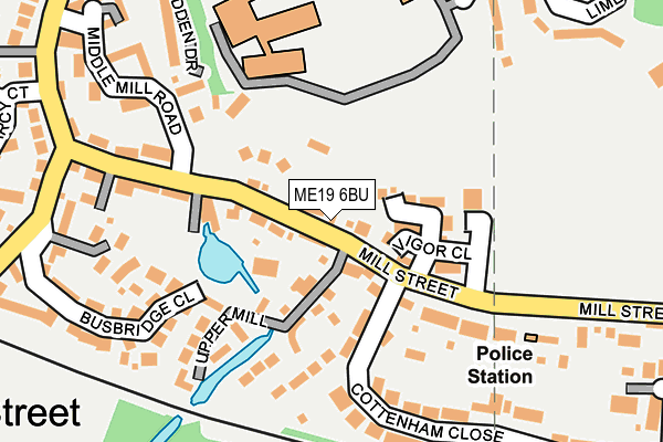 Map of QUALIS PROPERTIES (KENT) LTD at local scale