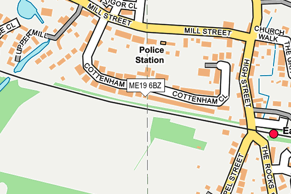 Map of RON TRAVEL LTD at local scale