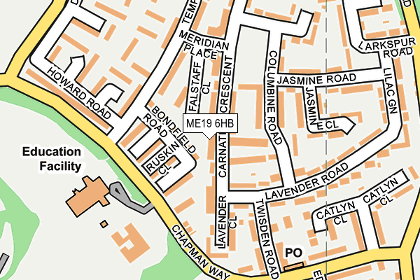 Map of CALLSOS LIMITED at local scale