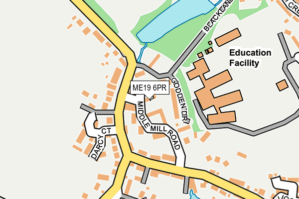 Map of GRACE JACOBS HOUSE LTD at local scale