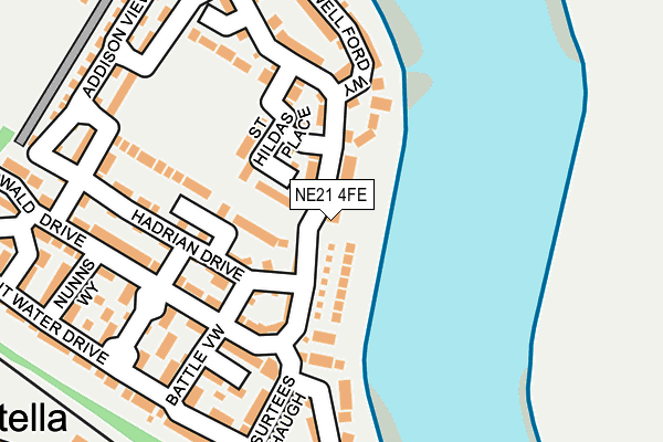 Map of NAYLOR'S PROPERTY LTD at local scale