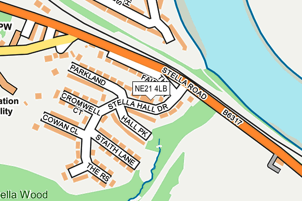 Map of CHATEAU NORTH LTD at local scale