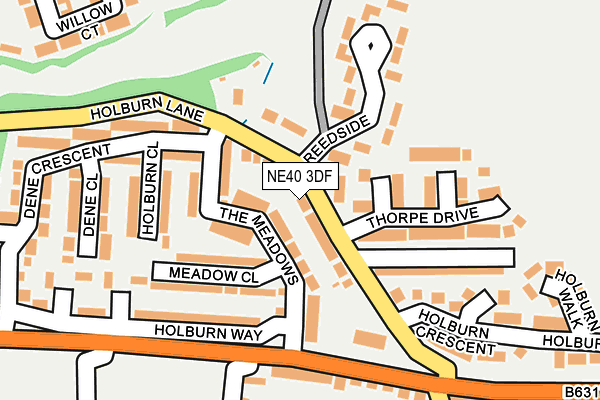 Map of SODATCH LTD at local scale