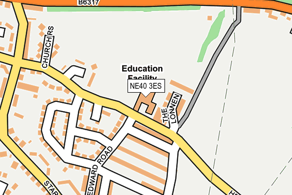 Map of CROOKHILL EARLY YEARS LIMITED at local scale