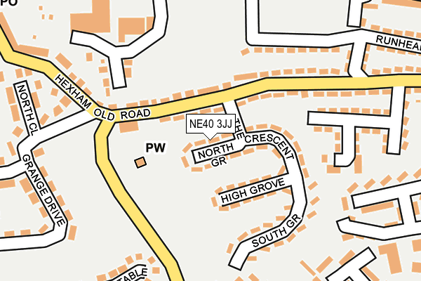 Map of SPADENEXT LIMITED at local scale