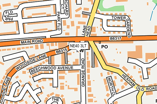Map of LKJ ELECTRICAL SERVICES LTD at local scale