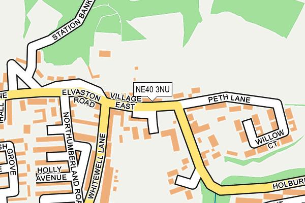Map of MARK ERRINGTON CONSTRUCTION LTD at local scale