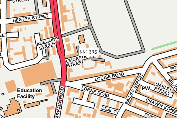 NN1 3RS map - OS OpenMap – Local (Ordnance Survey)