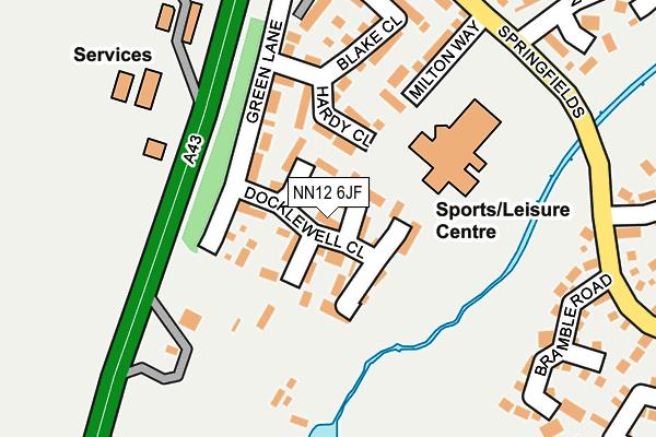 NN12 6JF map - OS OpenMap – Local (Ordnance Survey)