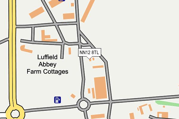 NN12 8TL map - OS OpenMap – Local (Ordnance Survey)