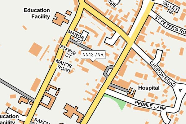 NN13 7NR map - OS OpenMap – Local (Ordnance Survey)