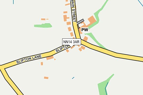 NN14 3AR map - OS OpenMap – Local (Ordnance Survey)