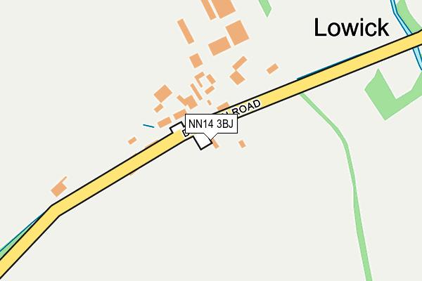 NN14 3BJ map - OS OpenMap – Local (Ordnance Survey)