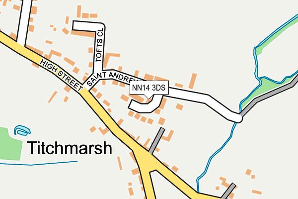 NN14 3DS map - OS OpenMap – Local (Ordnance Survey)