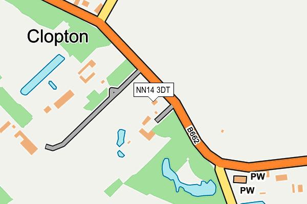 NN14 3DT map - OS OpenMap – Local (Ordnance Survey)