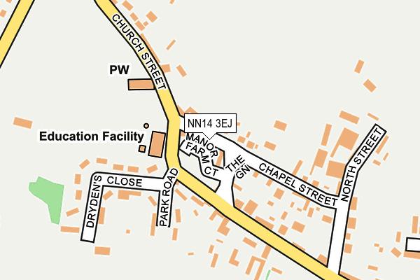 NN14 3EJ map - OS OpenMap – Local (Ordnance Survey)