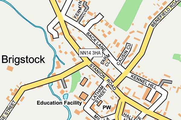 NN14 3HA map - OS OpenMap – Local (Ordnance Survey)