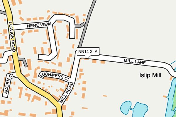 NN14 3LA map - OS OpenMap – Local (Ordnance Survey)