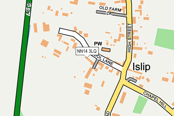Map of MARRAY THOROUGHBRED SERVICES LTD at local scale