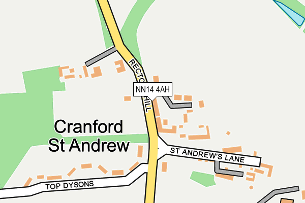 Map of BRYAN AND BOYT LTD at local scale