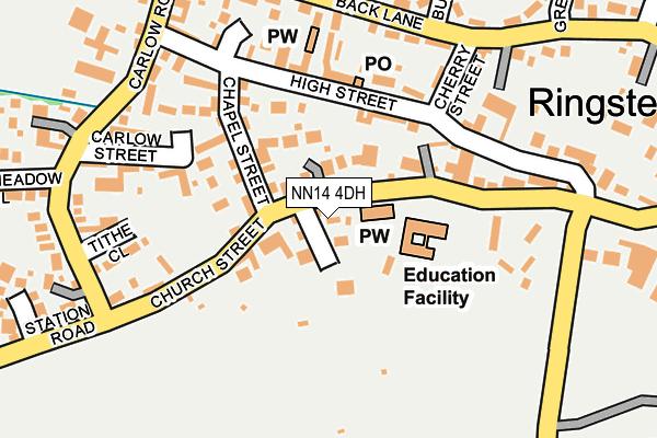 NN14 4DH map - OS OpenMap – Local (Ordnance Survey)