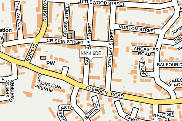 Map of FOXHALL TRADING LIMITED at local scale