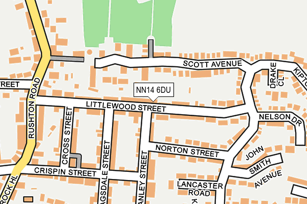 Map of HEFFO LTD at local scale